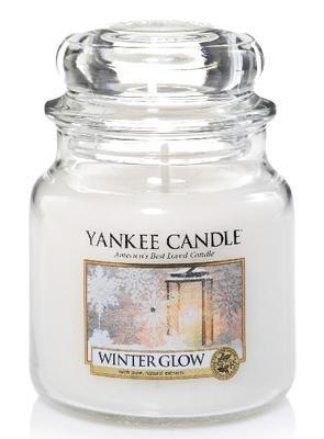 Svíčka Winter Glow - sklo č.2, Yankee Candle