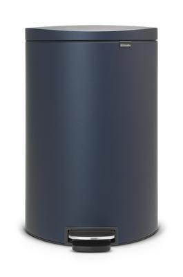 Koš pedálový FLATBACK 40 l - minerální modrá, Brabantia - 1