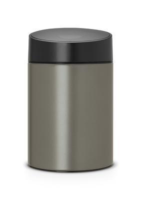Koš odpadkový SLIDE BIN 5 l - platinová, Brabantia - 1