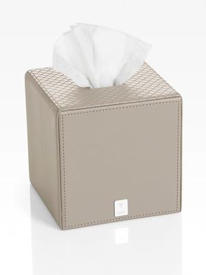 Box na ubrousky BATHLINE13,3x13,3x13,3 cm - šedý, JOOP!