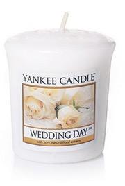 Svíčka votivní vonná - Wedding Day, Yankee Candle