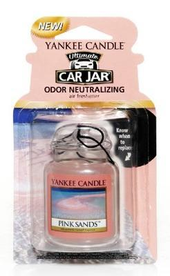 Vůně do auta Pink Sands, Yankee Candle