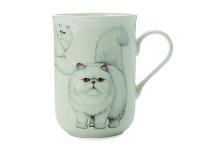 Hrnek Cat Persian CASHMERE PETS 300 ml, Maxwell & Williams