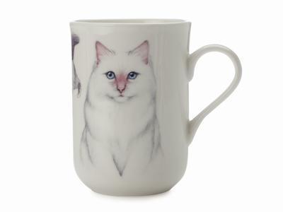Hrnek Cat Birman CASHMERE PETS 300 ml, Maxwell & Williams - 1