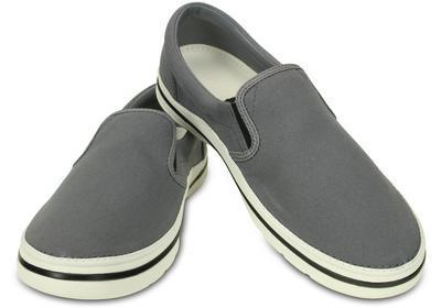 Boty NORLIN SLIP-ON MEN'S M10 charcoal/white, Crocs  - 1