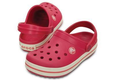 Boty CROCBAND KIDS J1 raspberry/white, Crocs - 1