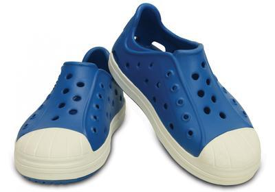 Boty BUMP IT SHOE KIDS C11 ultramarine/oyster, Crocs - 1