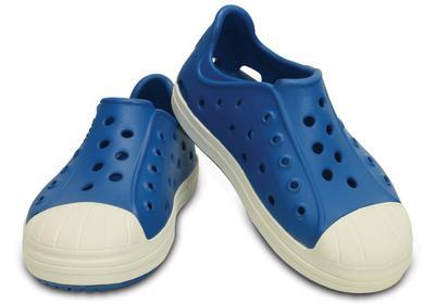 Boty BUMP IT SHOE KIDS J3 ultramarine/oyster, Crocs - 1