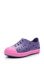 Boty BUMP IT SHOE KIDS C10 blue/violet, Crocs - 1/4