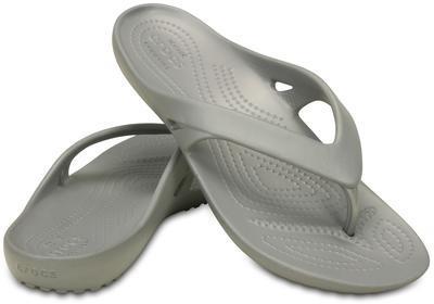 Žabky WOMEN'S KADEE II FLIP W5 silver, Crocs - 1