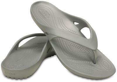 Žabky WOMEN'S KADEE II FLIP W6 silver, Crocs - 1
