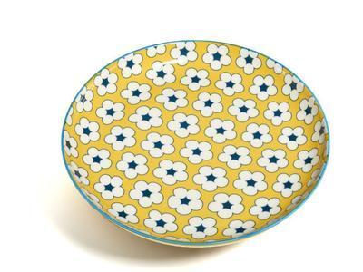 Talíř dezertní COTTON BUD 18,5 cm - žlutá, MW Christopher Vine