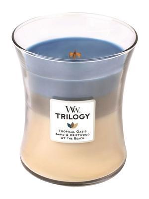 Svíčka vonná TRILOGY - Ráj na pobřeží - 283,5 g, WoodWick - 1