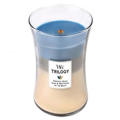 Svíčka vonná TRILOGY - Ráj na pobřeží - 623,7 g, WoodWick - 1