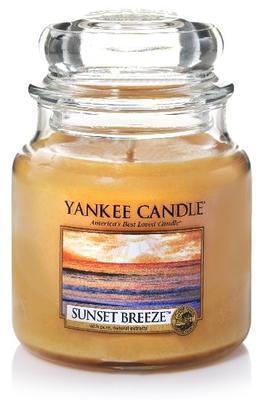 Svíčka Sunset Breeze - sklo č.2, Yankee Candle