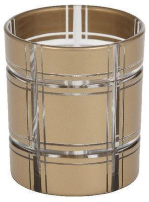 Svícen na votiv - Golden Etched, Yankee Candle