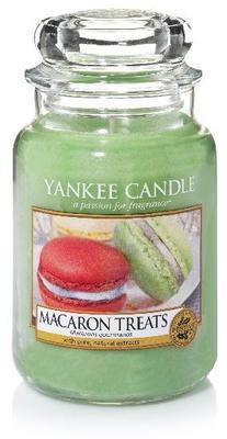 Svíčka Macaron Treats - sklo č.3, Yankee Candle