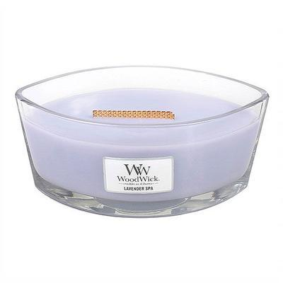 Svíčka 453,6g Lavender Spa - HEARTHWICK, Wood Wick