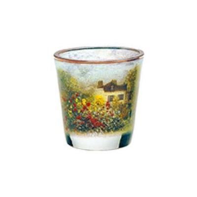 Svícen ARTIS ORBIS C. Monet - The Artist's House - 8 cm, Goebel