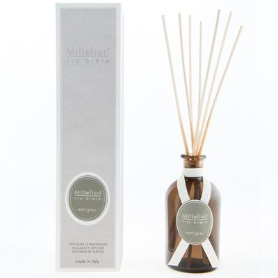 Aroma difuzér VIA BRERA 250 ml - Earl Grey, Millefiori