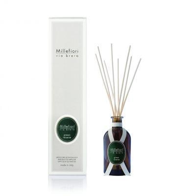 Aroma difuzér VIA BRERA 250 ml - Green Reverie, Millefiori