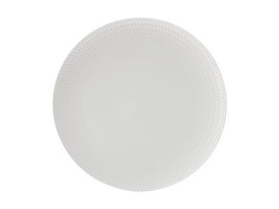 Talíř jídelní WHITE BASIC DIAMONDS 27 cm, Maxwell & Williams