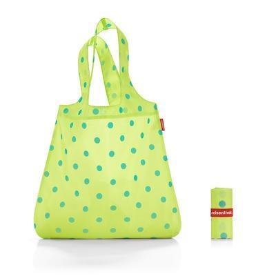 Taška skládací MINI MAXI SHOPPER Lemon Dots, Reisenthel - 1