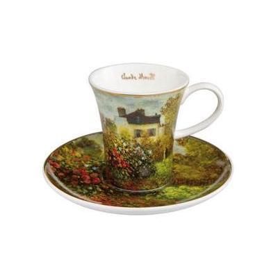Šálek a podšálek espresso ARTIS ORBIS C. Monet - The Artist's House -100 ml, Goebel