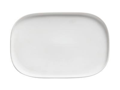 Talíř obdélníkový ELEMENTAL 26,5x18 cm - bílý, Maxwell & Williams