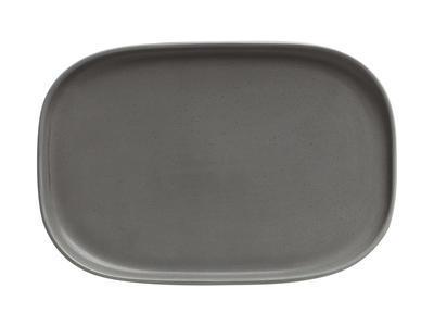 Talíř obdélníkový ELEMENTAL 20x14 cm - charcoal, Maxwell & Williams