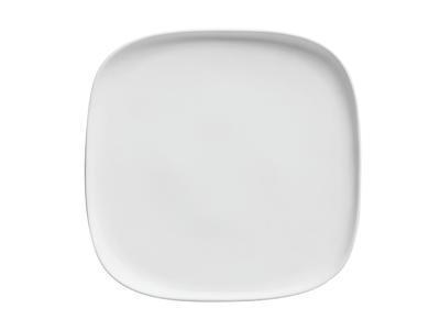 Talíř čtvercový ELEMENTAL 25,5 cm - bílý, Maxwell & Williams