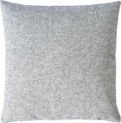 Povlak dekorační na polštář ELEMENTARY 40x40 cm - stříbrná, Sander