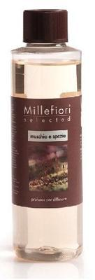 Náplň do difuzéru SELECTED 250 ml - Muschio & Spezie, Millefiori