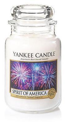 Svíčka Spirit of America - sklo č.3, Yankee Candle
