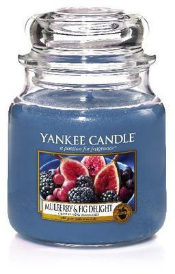 Svíčka Mulberry & Fig Delight - sklo č.2, Yankee Candle
