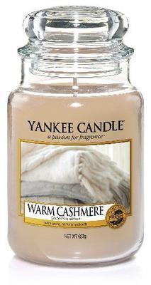 Svíčka Warm Cashmere - sklo č.3, Yankee Candle