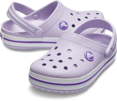Boty CROCBAND CLOG KIDS  lavender/neon purple, Crocs - 1