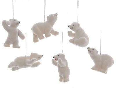 Vánoční ozdoba - polární medvěd, Kaemingk