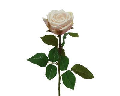 Růže, 68cm, krémová, Kaemingk
