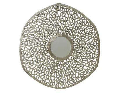 Nástěnné dekorativní zrcadlo, cca 81x1,2cm. Kaemingk