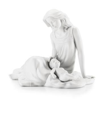 Dekorace soška - Matka s dítětem sedí PRIMAVERA 21 cm, Palais Royal