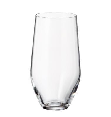 Sklenice na vodu - vysoká MICHELLE / GRUS 400 ml, Crystalite Bohemia