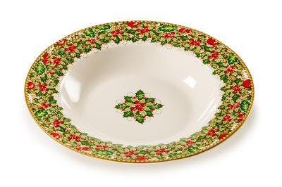 Vánoční talíř polévkový NATALE 22 cm, Palais Royal