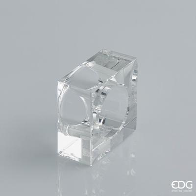Kroužek na ubrousky CRYSTAL QUADRO 5x5 cm, EDG