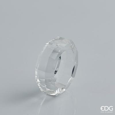 Kroužek na ubrousky CRYSTAL SFACCETT 6 cm, EDG