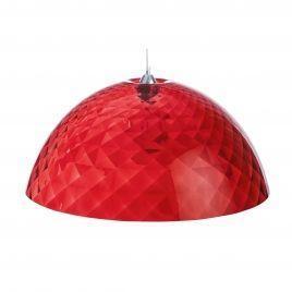 Závěsné svítidlo STELLA XL transp. červená, Koziol - 1