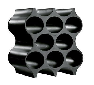 Stojan na lahve SET-UP černá, Koziol - 1