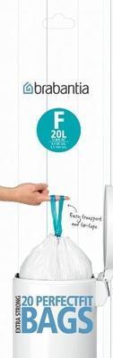 Pytle odpadkové PERFECT FIT-SLIMLINE 20l/20ks (F), Brabantia - 1