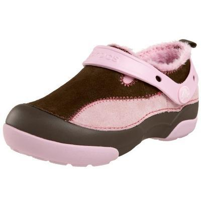Boty DAWSON KIDS C5 chocolate/bubblegum, Crocs - 1