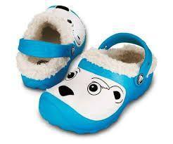 Boty POLAR BEAR LINES C6/7 electric blue, Crocs - 1